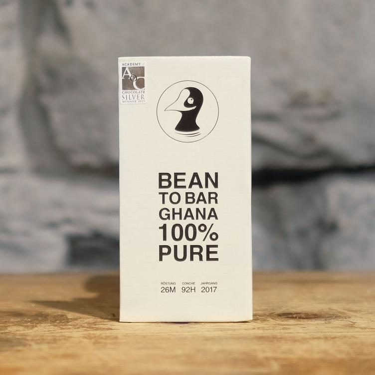 Bean to Bar Pure 100% Ghana 80g