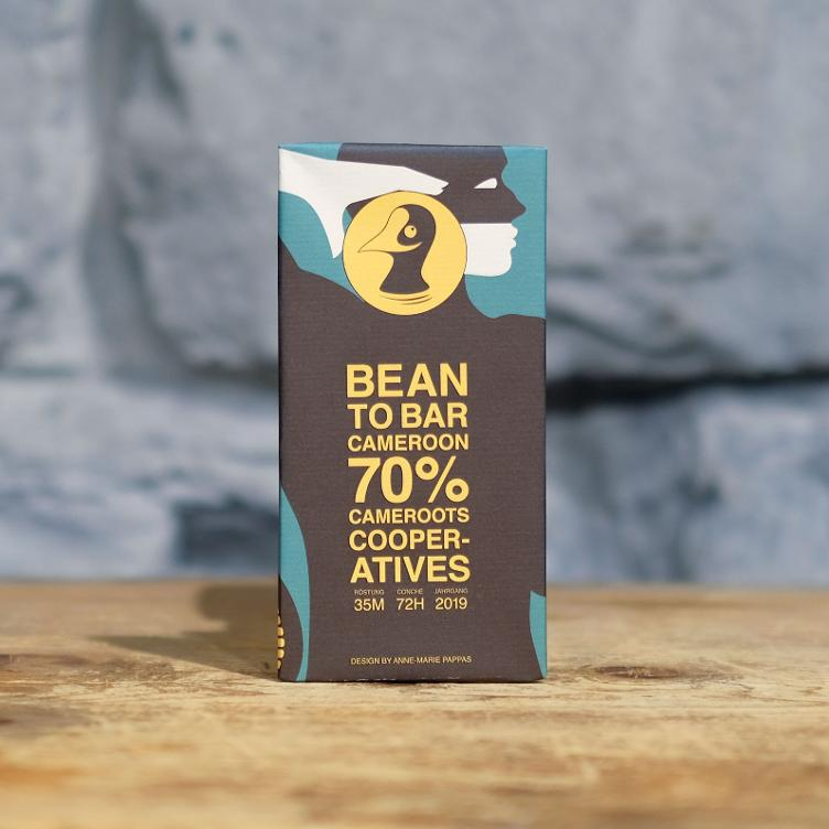 Bean to Bar Cameroots Cooperatives 70% Cameroon 80g