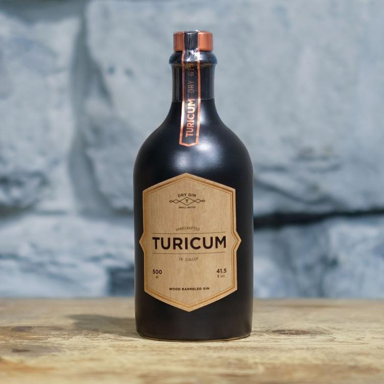 Turicum Wood Barreled Gin 500ml