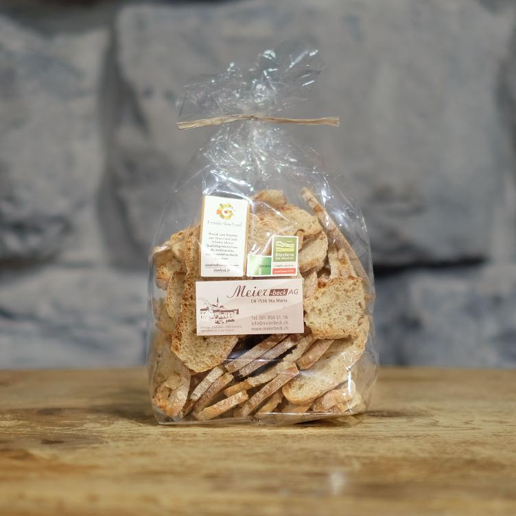 Slow Food Berg Roggenbrot Chips 130g